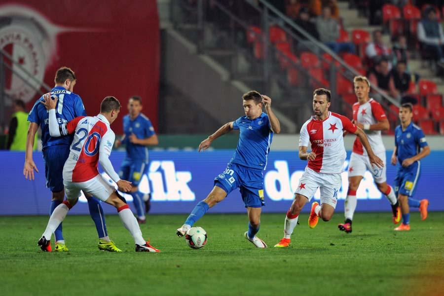 0:1-Niederlage in Prag gegen Slavia
