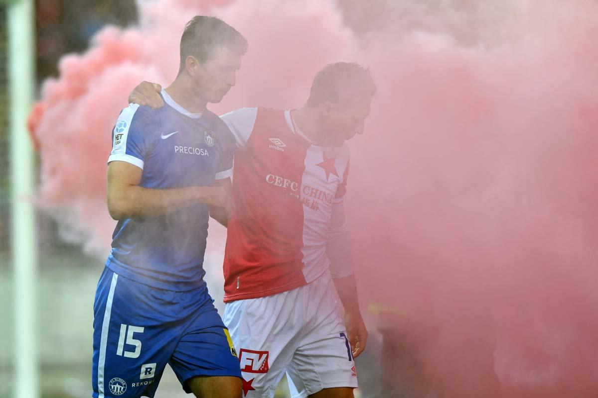 Englische Woche in Tschechien - Slovan im Pokal-Viertelfinale zu Gast beim SK Slavia Prag