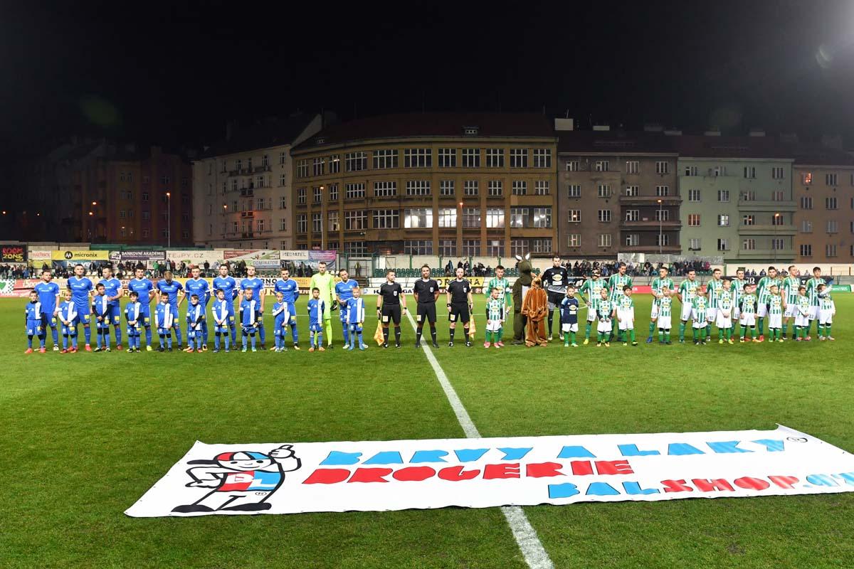 Gerechte Punkteteilung im Prager Ďolíček - 0:0 bei Bohemians 1905