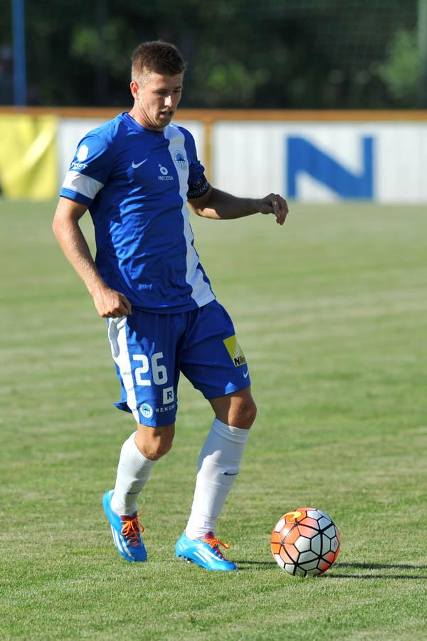 Lukáš Bartošák v dresu Slovanu