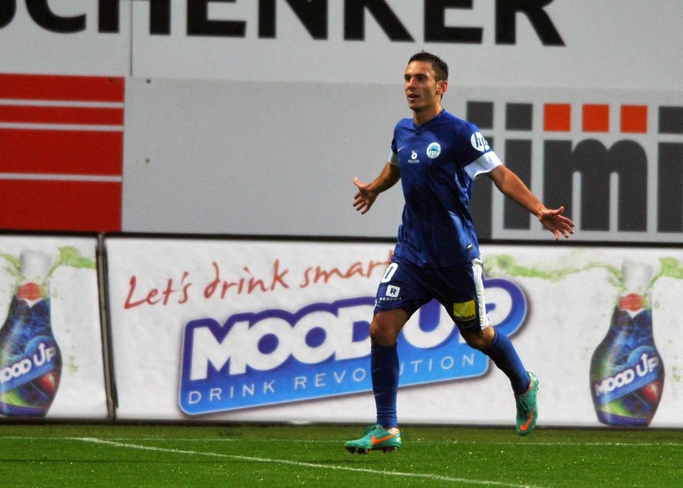 гол тимощука в ворота фрайбурга: