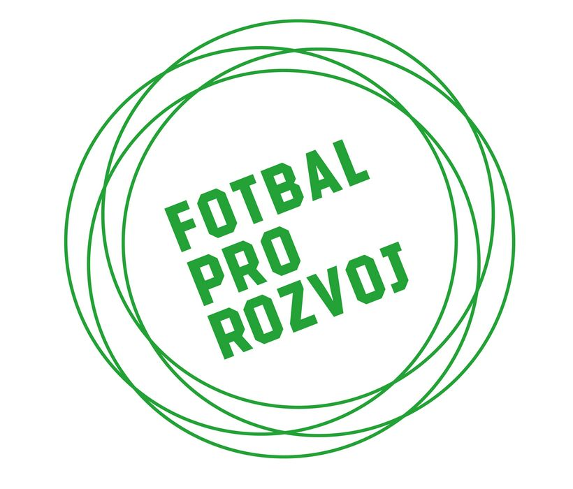 Výsledek obrázku pro fotbal pro rozvoj logo