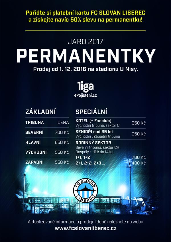 Permanentky 2016/17