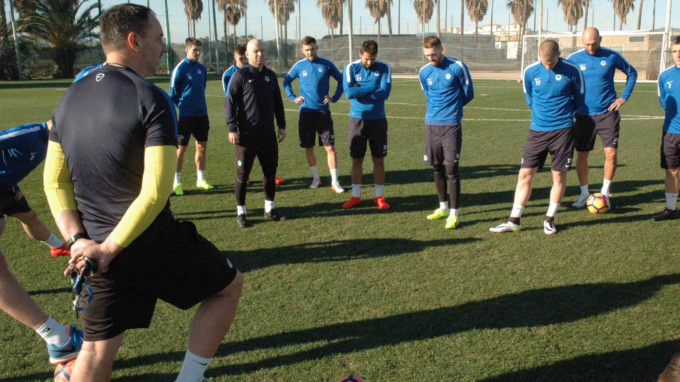 Das Trainingslager in Spanien