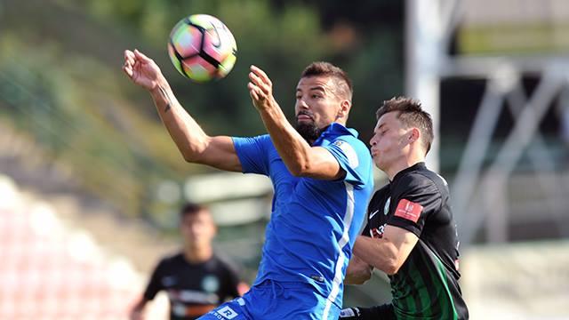 Erster Sieg der Liga-Saison - 1:0 in Pribram