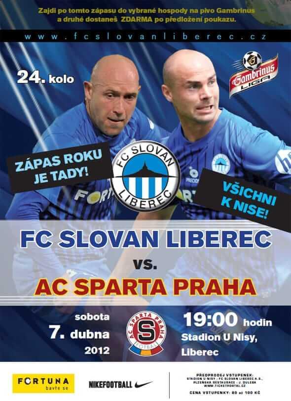 Gambrinus: Liberec - Sparta